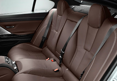2013 BMW M6 Gran Coupe Interior