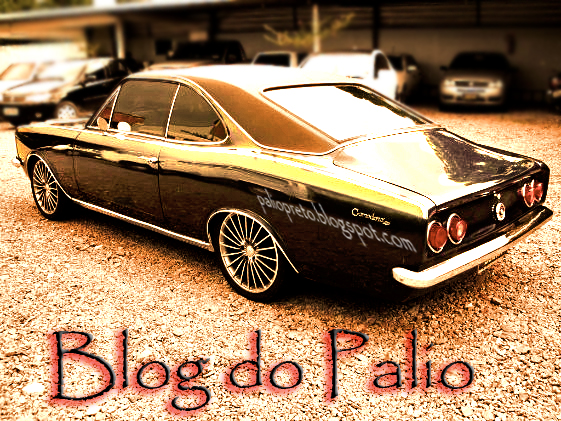 Chevrolet Opala Preto Metalizado Tuning Tunado BLOG DO PALIO