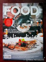 Featured  In Food Digest 2011