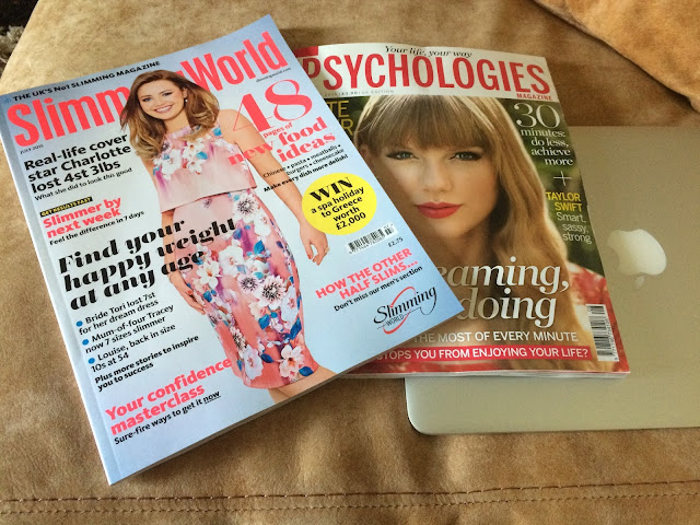 Happiness Goals - Slimming World and Psychologies magazines