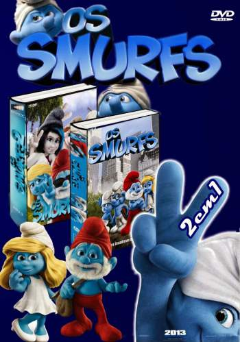 Duologia Os Smurfs 3D Torrent – BluRay 1080p Dual Áudio (2011-2013)