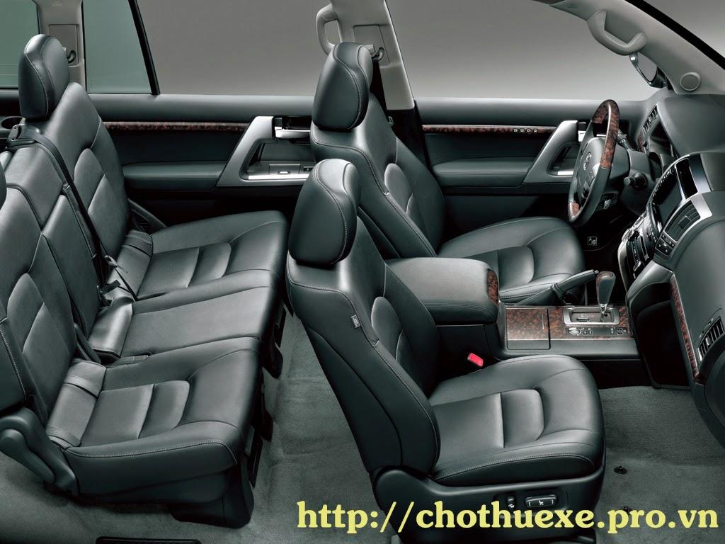 Cho thuê xe 7 chỗ giá rẻ, xe Toyota Prado Land cuiser hạng sang