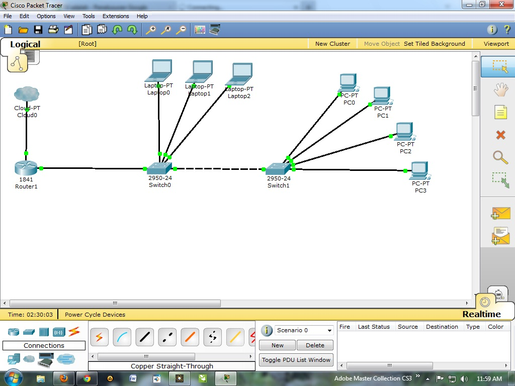 how to stop translating on cisco packettracer