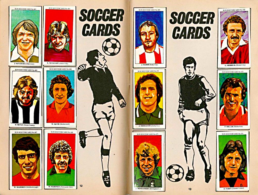Pat Sharkey Northern Ireland #170 The Sun Soccercards 1978-79