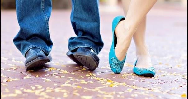 Cute Couple Foot Shoes Romantic
