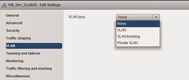 vSphere Distributed Switch Part 18 - Configuring dVPortGrouP VLAN Policy