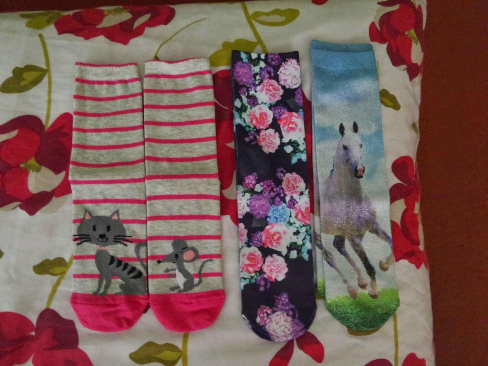 PippaD loves new socks