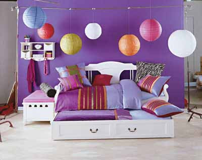 Village Architecture Design Interior: Violet Room Decorating Ideas