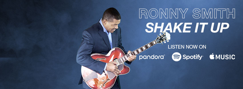 Ronny Smith, Contemporary Jazz Guitarist, Baltimore, Maryland