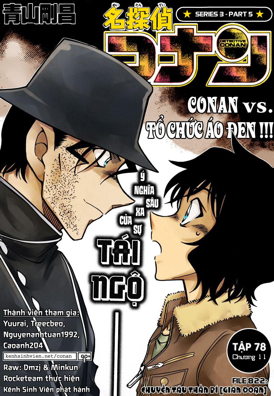 Thám Tử Lừng Danh Conan - Chapter 822 - Pic 1