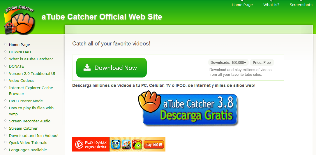 web atube catcher