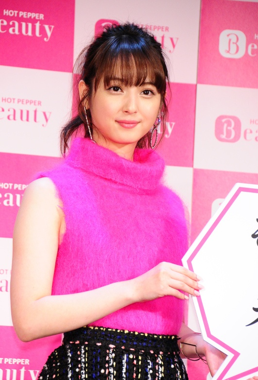 佐々木希 Nozomi Sasaki Hot Pepper Beauty Photos 2