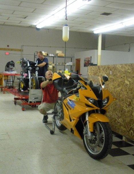 Fischer MRX Motorcycle Factory