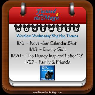 Disney Wordless Wednesday Blog Hop Themes