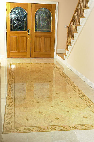 Homes With Marble Floors : Marble floor designs for home