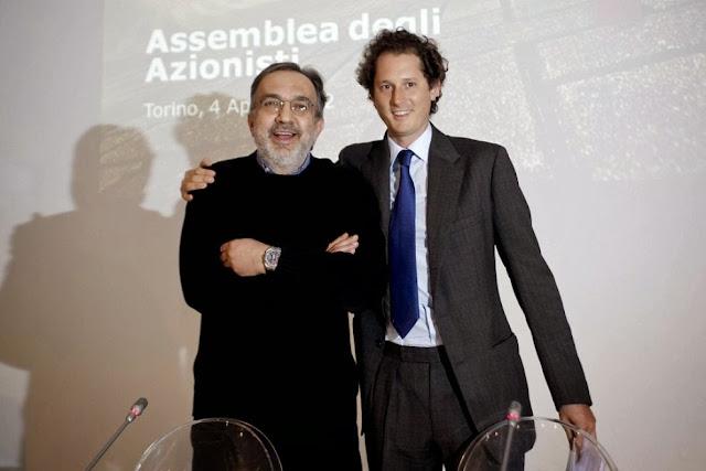 Sergio Marchionne e John Elkann sono gli artefici dell'accordo che porta al controllo al 100% di Chrysler da parte di Fiat