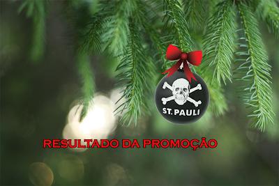 Natal St. Pauli Brasil - Resultado da promoção