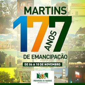 Martins 177 Anos de Emancipação Política