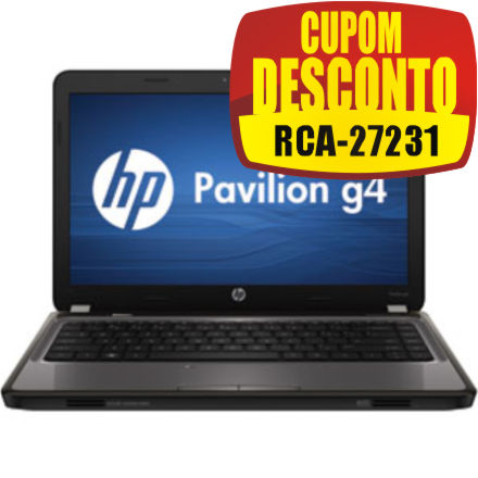 Notebook HP G4-1110BR LED 14 Windows 7