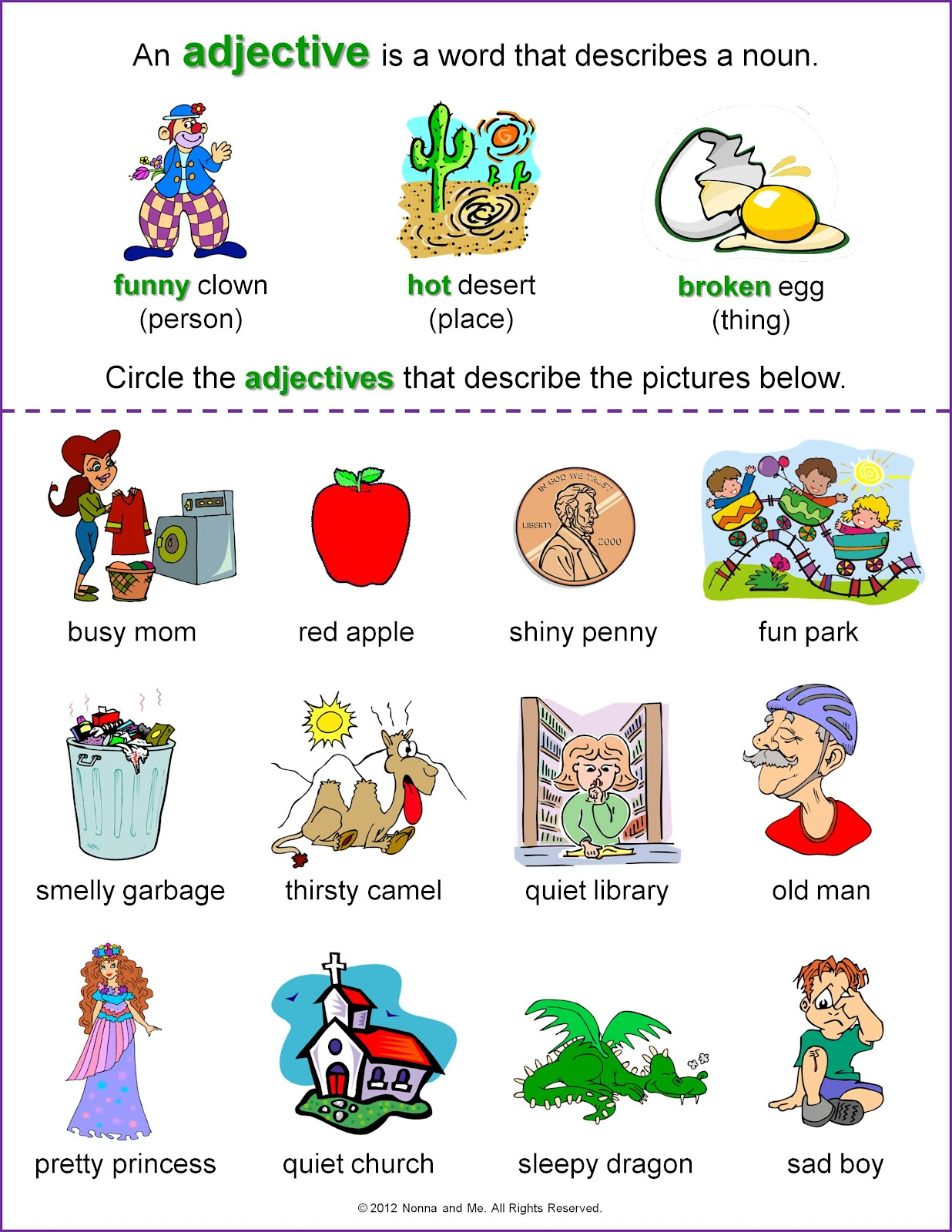 Worksheet Adjective Worksheet For Grade 1 adjectives worksheets for grade 1 imatei memarchoapraga