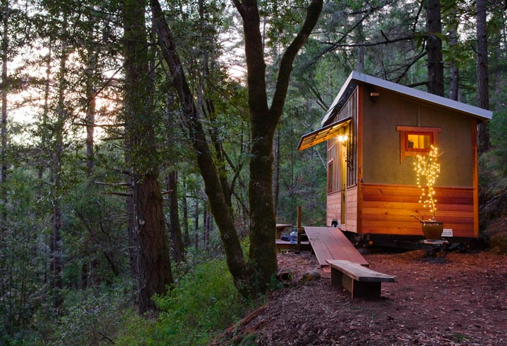 lloyd s blog tiny home in california woods