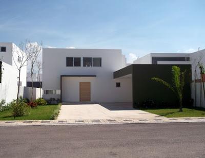 Fachadas minimalistas residencia minimalista de 2 y 3 niveles for Casas tipo minimalista