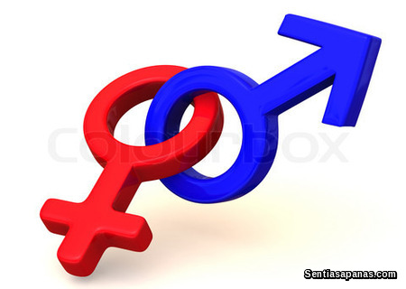 Women and man symbol