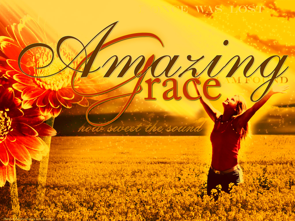 amazing grace Lirik bahasa inggris amazing grace, how sweet the sound, that saved a wretch like me i once was lost but now am found, was blind, but now i see t'was grace that taught my heart to fear.