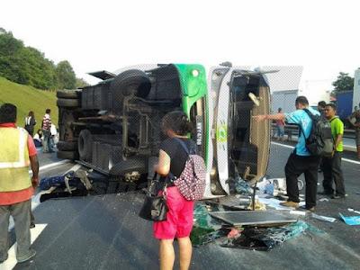 kemalangan bas