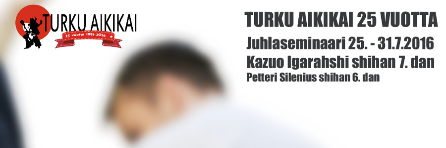 Turku Aikikain juhlaleiri 25v