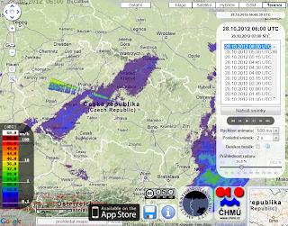 Radar počasí
