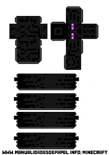 Crear bloque minecraft de Enderman