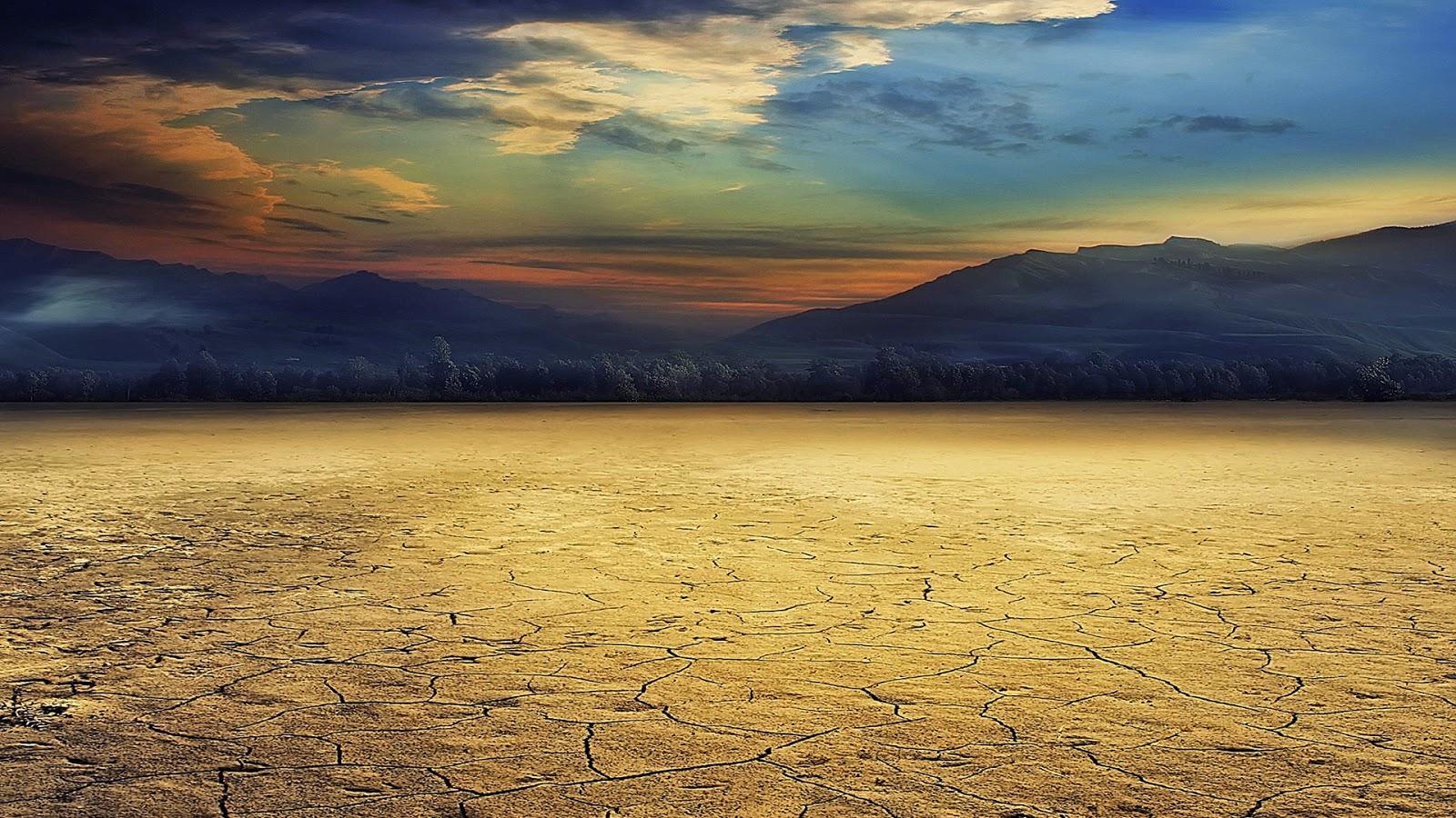 Dry Desert Land