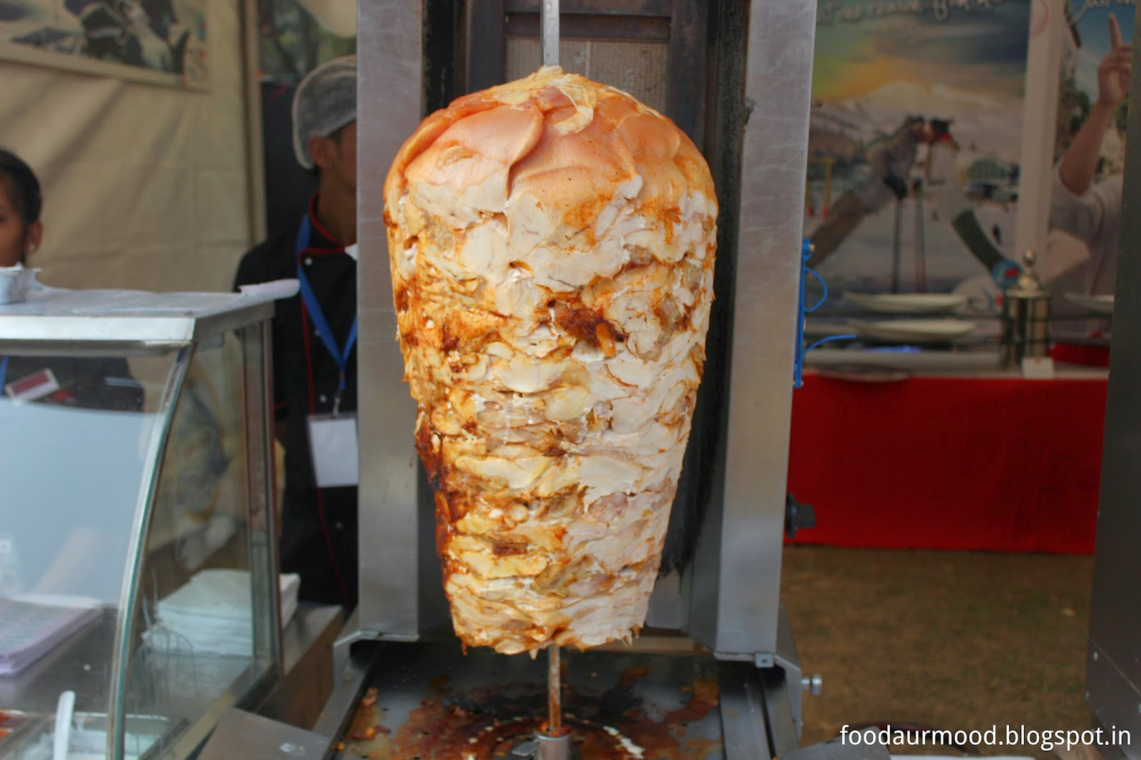 chicken shawarma, Palate Fest 2014, chicken