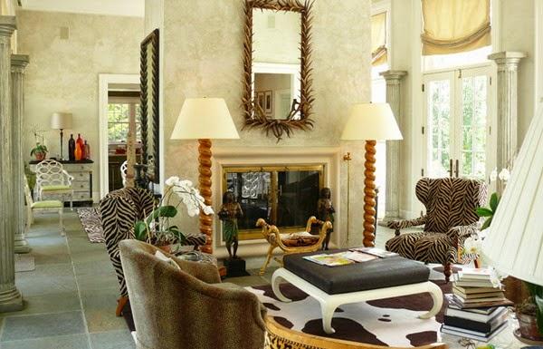 Dekorasi Interior Ruang Tamu Klasik