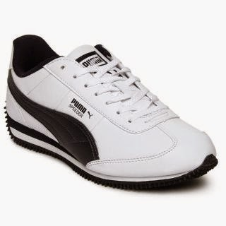 Buy Puma Speeder B/W Shoes for Rs.699 at Shoclues : BuyToEarn
