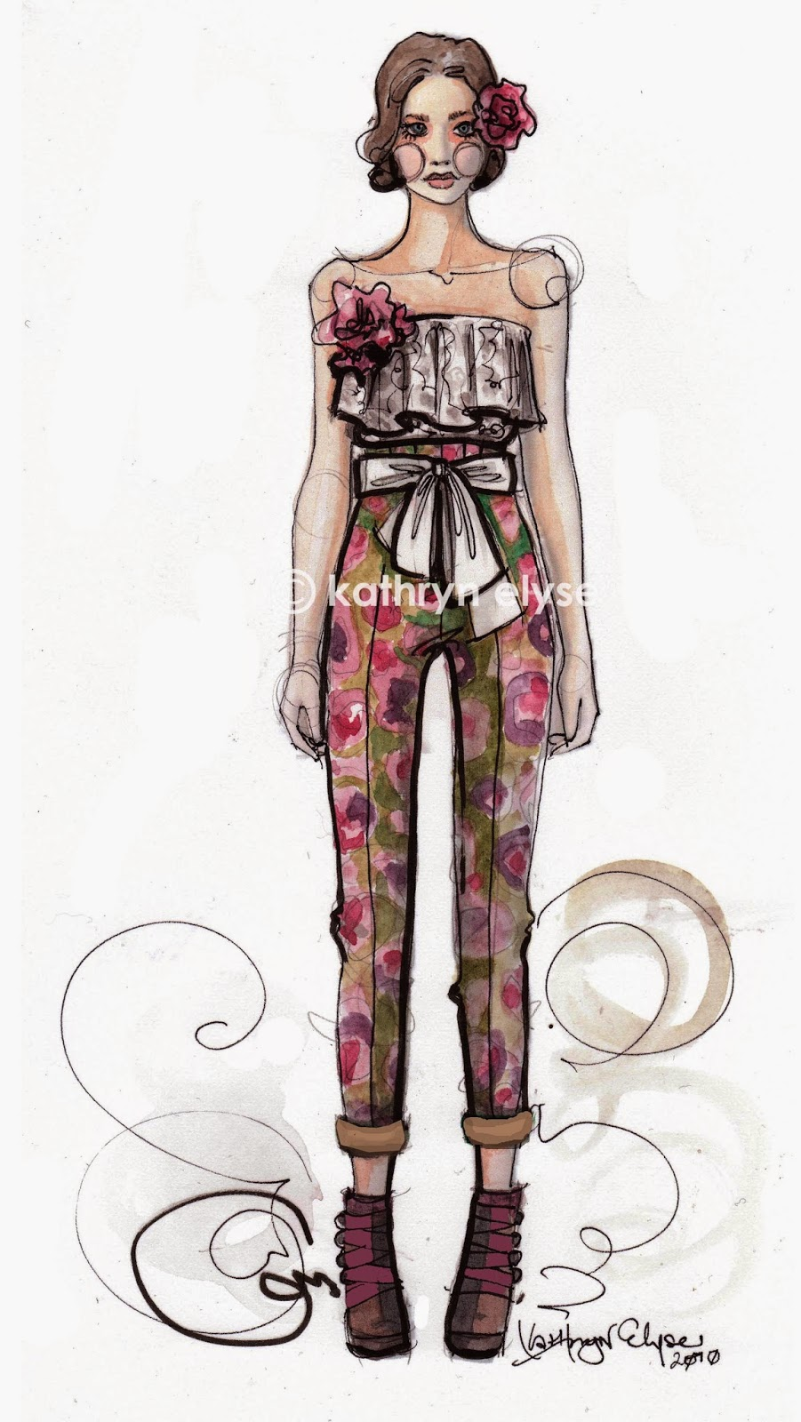 Contemporary fashion illustration techniques pdf 69