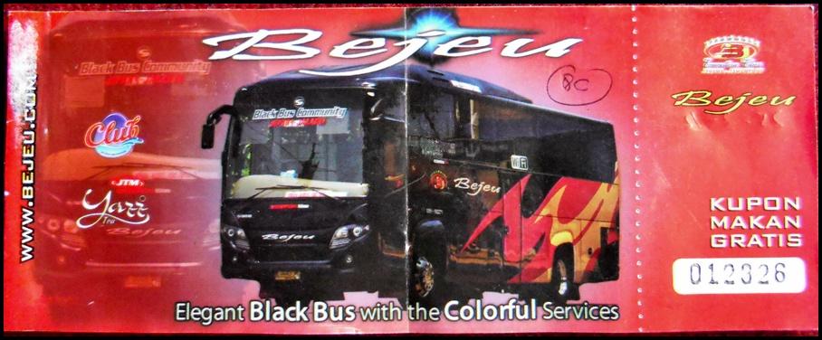 Harga Tiket Bus Bejeu Terbaru Oktober Update 22 Oktober Jalur