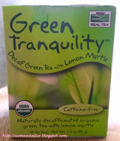 té verde descafeinado