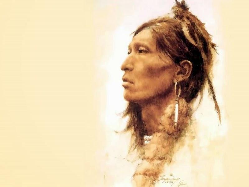 d w c  native americans - painter howard terpning