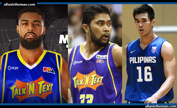 Talk N Text formed 'fearsome threesome' as Troy Rosario joined TNT thru 3-team trade