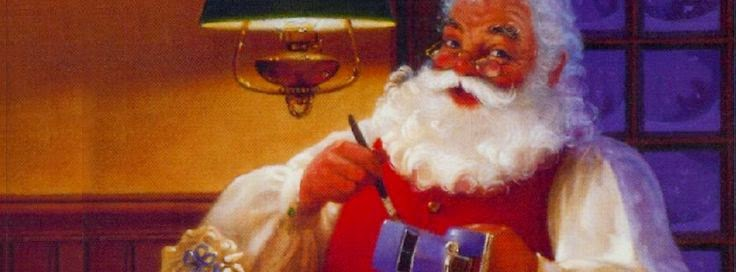 Classic Santa Drawing Cover Photo