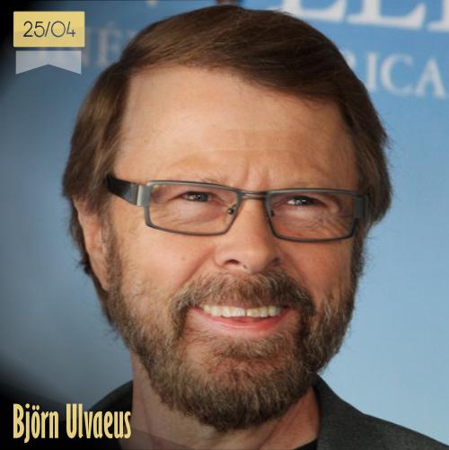 25 de abril | Björn Ulvaeus - @FreethinkBjorn | Info + vídeos