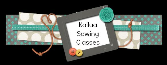 Kailua Sewing Classes