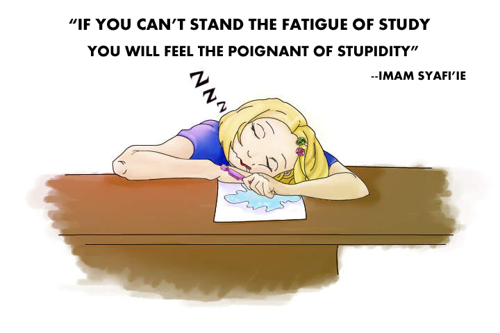 Tii >> InspiringQuotes: IF YOU CAN'T STAND THE FATIGUE OF STUDY, YOU WILL FEEL THE POIGNANT OF ...