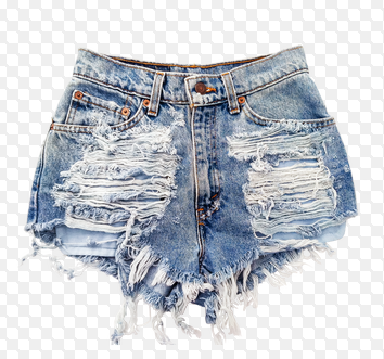 How To Distress Jean Shorts - The Else