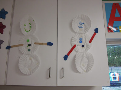 the pa-paw patch, winter theme, preschool winter theme, kids snowman crafts