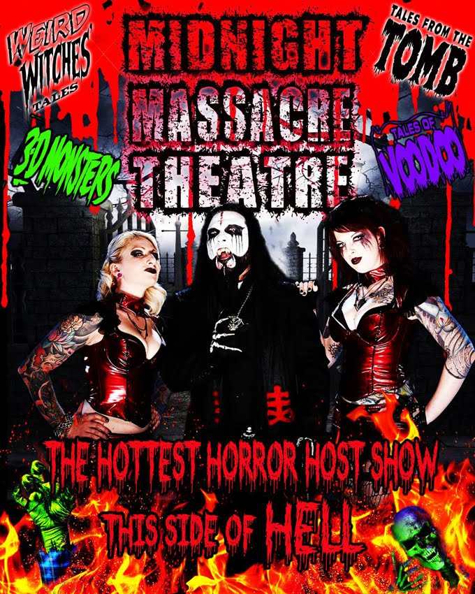 Midnight Massacre Theatre Shown on BTV
