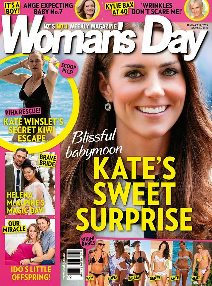 Kate Middleton - Woman's Day Magazine, New Zealand, January 2015
