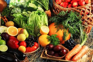 Frutas y Verduras para desintoxicar el organismo